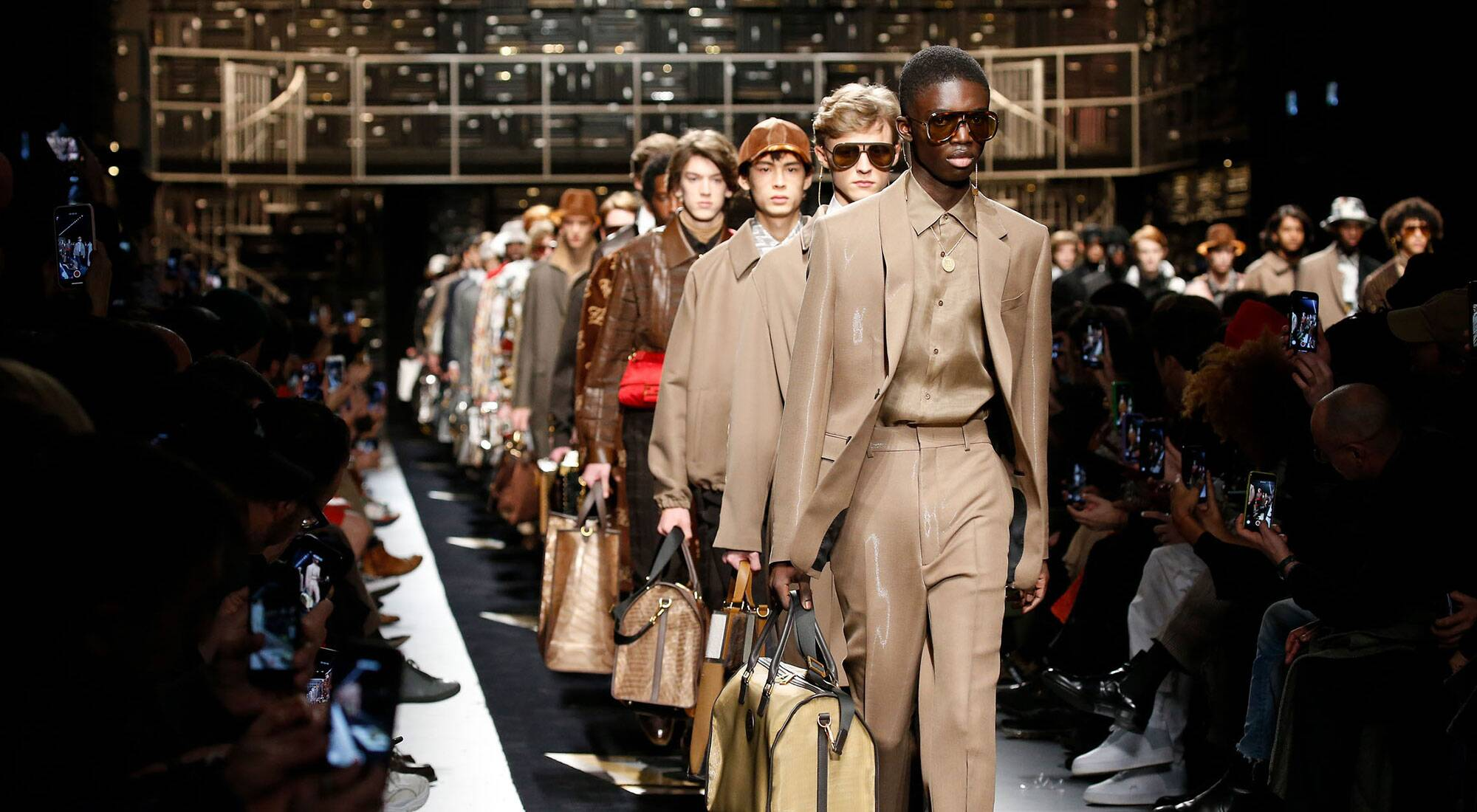 Photo défilé Paris Fashion Week homme 2019